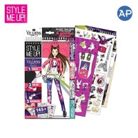 Style Me Up! The Disney Villain Sketchbook Collection (Regular)