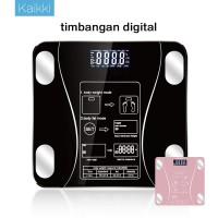 Kaikki Timbangan Badan Digital Body Fat Monitor with App Smart Weight