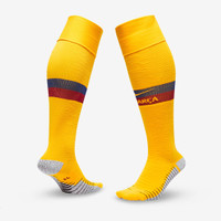 Kaos Kaki Bola Nike FC Barcelona 2019/20 Match Away - Varsity Maize/V