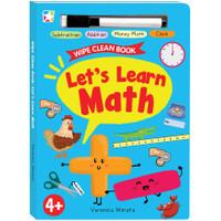 Opredo Wipe Clean Book: Lets Learn Math