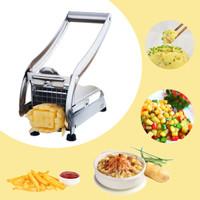 Asih Potato Chipper Chopper Slicer Tool French Fries Ch