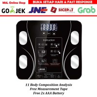 Timbangan Badan Digital Body Fat Monitor Body Fat Analysis 180KG