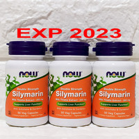 Now Foods Food Silymarin Milk Thistle 300 Mg 50 Veg Caps Support Liver