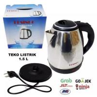 Teko Listrik Full Stainless 304 Steel 1 5 Liter mug Listrik 1 5 Lt