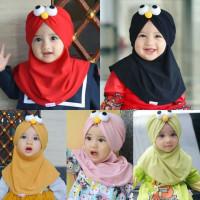 Hijab Jilbab Kerudung Muslim Casual Motif Kartun Lucu