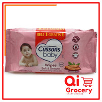 CUSSONS BABY WIPES SOFT & SMOOTH 50LBR