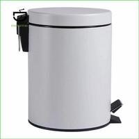 Tool Tempat Sampah Bentuk Silinder Kapasitas 5 Liter Warna AbuAbu