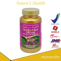 [BPOM] Nature's Health Devil's Claw 250mg 30 capsules
