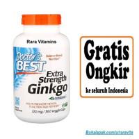 Doctors Best Extra Strength Ginkgo 120 mg isi 360 Veggie Caps Vitamin