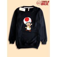 Sweater Sweatshirt Super Mario Toad