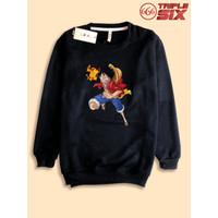 Sweater Sweatshirt Anime Luffy Straw Hat One piece