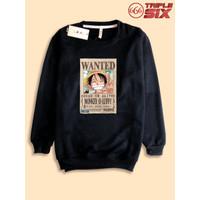 Sweater Sweatshirt Anime Monkey D luffy Wanted One Piece