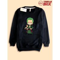 Sweater Sweatshirt Anime One piece roronoa zoro chibi