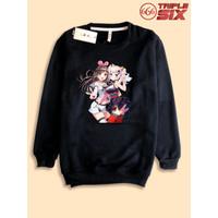 Sweater Sweatshirt Anime vTuber Kizuna Ai x Kaguya Luna