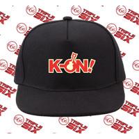 Topi Snapback Cotton Anime K On Logo