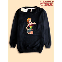 Sweater Sweatshirt Anime One Piece Nami Thicc tights