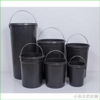 Tool Tempat Sampah Bahan Stainless Steel Warna Hitam Ukuran 5 L 8 L