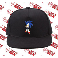 Topi Snapback Cotton Sonic The hedgehog Sonic