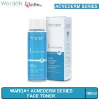 Toner Wajah Wardah Acnederm Series Pore Ref Face Toner 100ml Ori