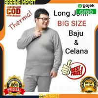 LongJohn Baju Pakaian Dalam Winter Musim Dingin Big Size Pria Cowok