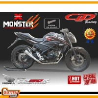 Knalpot Motor CLD Racing Honda CB150R Old & New Type Monster X Series