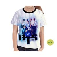 Baju Anak Perempuan BTS Series 3D Murah #AP-6