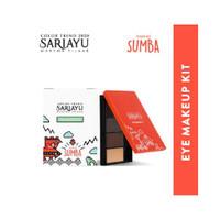 Sariayu Eye Makeup Kit - Color Trend 2020 Inspirasi Sumba Eye shadow E
