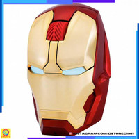 Promo TaffWare Mouse Wireless Optical Iron Man 2.4Ghz - GFSK-M8 [Gold]