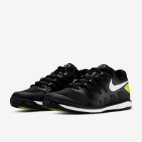 Sepatu Tenis Tennis Nike Air Zoom Vapor X Clay - Black/White/Volt