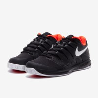 Sepatu Tenis Tennis Nike Air Zoom Vapor X Clay - Black/White/Bright Cr