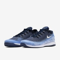 Sepatu Tenis Tennis Nike Air Zoom Vapor X Knit - Royal Pulse/White/Hyd