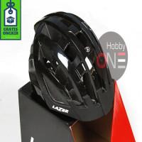 LAZER HELMET COMPACT BLACK UNISIZE 54-61Cm Asian Fit CE - Helm Sepeda