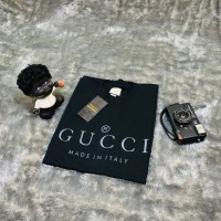 T SHIRT KAOS GUCCI MADE IN ITALY BLACK AUTHENTIC ORIGINAL BESTSELLER