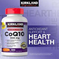 Kirkland Signature CoQ10, 300 mg (100 Softgels)