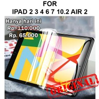 Apple iPad 2 3 4 6 7 10.2 Air 2 anti gores not tempered glass HYDROGEL