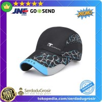 Topi Baseball Pria Cap Snapback Model T Outdoors Hitam Gray (ORIGINAL)