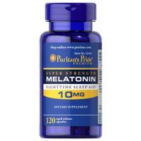 Puritans Pride Melatonin 10 mg 120 Capsules Tingkatkan Kualitas Tidur