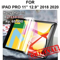 Hydrogel iPad Pro 11 - 12.9 2018 2020 anti gores not tempered glass