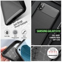 Samsung Galaxy A6 2018 - Full Body Carbon Fiber Soft Case