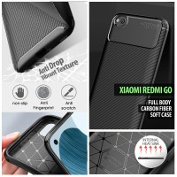 Xiaomi Redmi Go - Full Body Carbon Fiber Soft Case