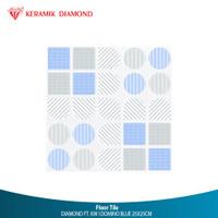 DIAMOND FT. KW I DOMINO BLUE 25X25CM