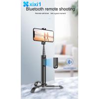 ORIGINAL 【.】 Selfie Stick Tripod Portable All-in-One Alumium Alloy