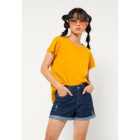 Colorbox Regular Loose T-Shirt I:Tskbsc520O501 Mustard