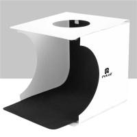 PULUZ Photo Studio Mini Soft Box Photo Box dengan Lampu 2 LED