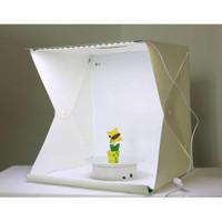 Photo Studio Mini 3 Button dengan LED dan 4PCS Background