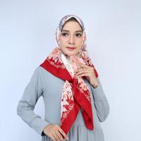 Kids Motif Segi Empat Abstrak Hijab Jilbab Kerudung Square MC1