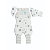 Love to Dream SWADDLE UP Transition Suit Lite 0.2 TOG - White (Medium)