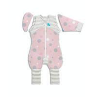Love to Dream SWADDLE UP Transition Suit Lite 0.2 TOG - Pink (Medium)
