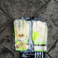 Sarung Tangan Kiper Tulang Anak Adidas-4 (Yellow)