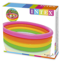 HC - Kolam Renang Anak 4 Ring Rainbow intex 56441